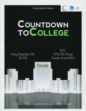 Countdown to college workshop